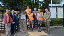​Local community helps Malvern Link station to 'go green'