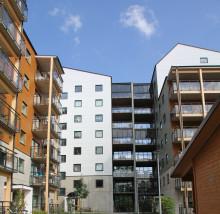 Växjöbostäders och Midrocs projekt är nominerat till träbyggnadspris