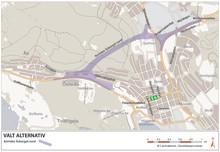 Val av sträckning viktigt steg för Åsbergstunnelns förverkligande