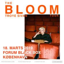 Troye Sivan giver koncert i Forum Black Box til marts