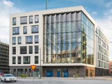 Wihlborgs kontorshus Dungen i Hyllie nominerat till Stadsbyggnadspriset
