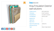 Knauf Insulation tar isoleringen inn i BIM