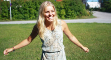 Veckans stjärnbarnvakt - Ebba från Täby