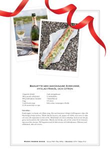 Recept: Baguette med mayonnaise écrevisse