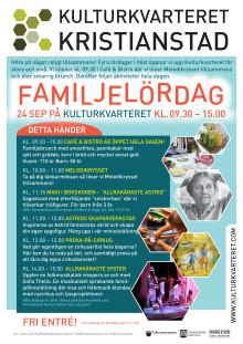 Astrid Lindgren-tema på höstens första familjelördag på Kulturkvarteret