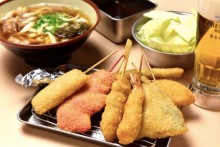 Japan's Number 1 Kushikatsu Chain, Kushikatsu Tanaka,  with it's first Asian outlet in Singapore!