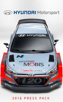 Hyundai Motorsport - 2016 presskitt
