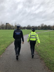 Southampton rape investigation: Neighbourhood officers patrol Riverside