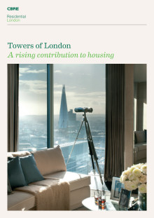 Towers of London, A rising contribution to housing