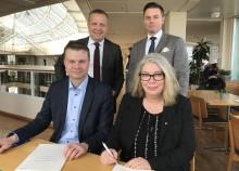 Överlåtelseavtal undertecknat idag för samgåendet mellan KFS och Pacta