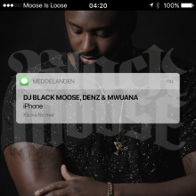 "DJ Black Moose släpper singeln ""iPhone"" feat. Denz & Mwuana"