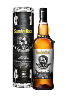 Sweden Rock lanserar whiskyn The Holy Spirit of Sweden Rock Black Label