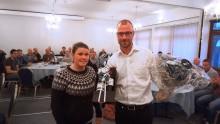 Ny formand fundet og æresnål tildelt ved Distritk Jylland/Fyns årsmøde