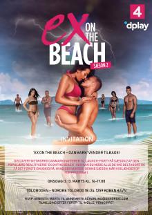 INVITATION: 'EX ON THE BEACH – DANMARK' VENDER TILBAGE!