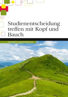 """eBook """"Studienentscheidung treffen - mit Kopf und Bauch"""""""