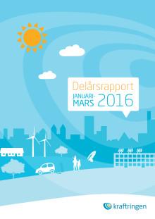 Kraftringens delårsrapport kvartal 1 2016