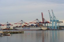 Upturn in container freight at the Port of Gothenburg