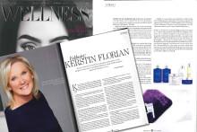 Exklusiv intervju med Kerstin Florian i det senaste numret av Lifestyle Wellness!