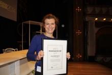 Lina Söderqvist, Björn Borg, är Årets Marknadschef 2014