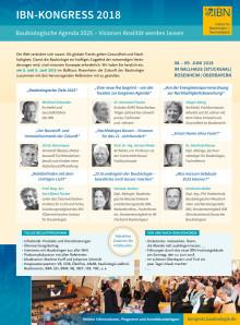 WOHNUNG+GESUNDHEIT 165: IBN Kongress 2018