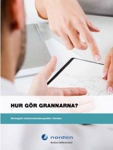 Hur gör grannarna? - om nordisk funktionshinderspolitik