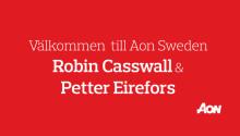 Aon Sweden har rekryterat Robin Casswall & Petter Eirefors