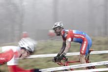 Spektakulär cyclocrosstävling i Kungsträdgården