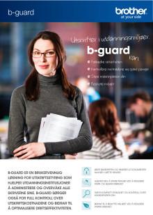 Brother B-guard i Utdanningsseksjonen, brosjyre