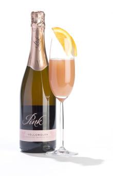 Ønsk 2012 velkommen med rosa velkomstdrink