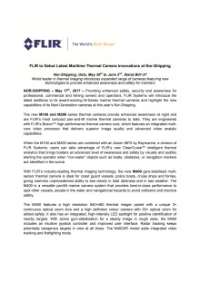 FLIR to Debut Latest Maritime Thermal Camera Innovations at Nor-Shipping