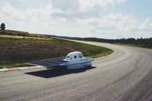 Sista chansen att se solbilen innan Australientävling