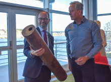 Infrastrukturministern besökte Vakin