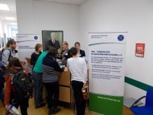 VOD informiert Osteopathie-Schüler am College Sutherland in Schlangenbad