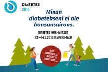 Ensimmäiset Diabetesmessut 23.–24.9. tarjoaa tuoreimman tiedon hoidosta, teknologiasta ja tutkimuksesta