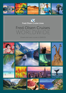 Explore the world with Fred. Olsen Cruise Lines in 2020/21, by ocean and by river, reaching 277 destinations in 90 countries, across six continents!