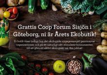 Coop Forum Sisjön - Årets eko-butik!