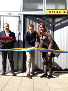 Upplands Väsby inviger miljöbilsgarage