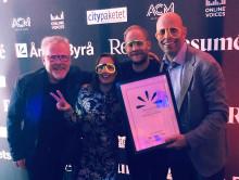 Maverick på prispallen i Årets Byrå 2019