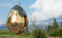 Riksbyggens Solar Egg nominerat till Dezeen Awards 2019