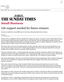 Life support needed for future winners