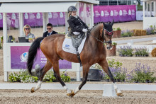 Great Britain and dynamic Danes share honours as Para Dressage draws to a close