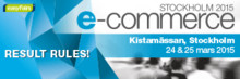 Q-channel deltar på mässan e-commerce Stockholm 2015
