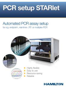 PCR Setup Starlet - Flyer