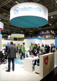 Västtrafik deltar i Persontrafik 2012