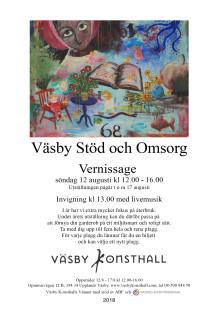 Väsby Stöd och Omsorg, vernissage 12 augusti kl 12-16