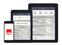 Avancerede løsninger: Oras introducerer en mobil app til vedligehold af elektroniske armaturer