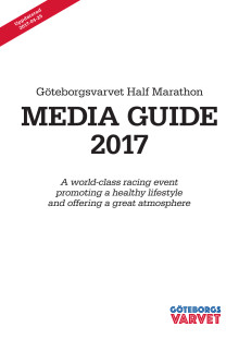 Media Guide - Göteborgsvarvet Half Marathon 2017
