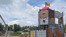 Sölvesborgs kommun välkomnar alla barn till kalas när den nya lekplatsen i Falkvik invigs