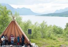 Saltoluokta Folkmusikfestival i väglösa Jokkmokksfjällen