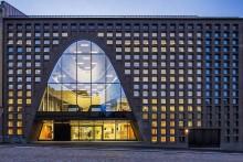Optimala glaskombinationer ett måste för Helsingfors universitetsbibliotek